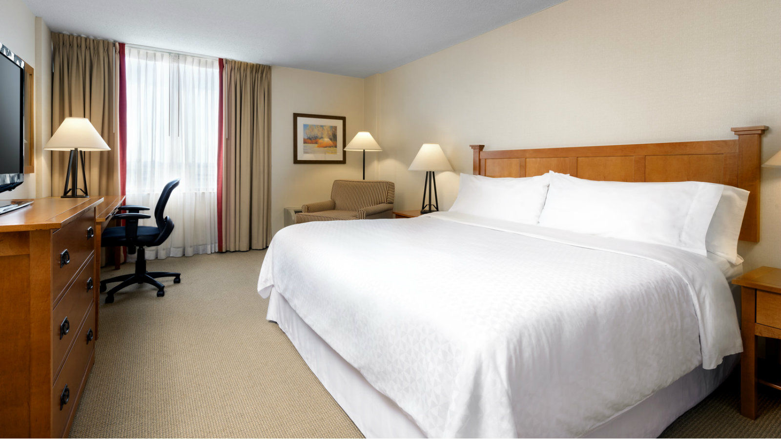 Toronto Accommodations - Queen Guest Room